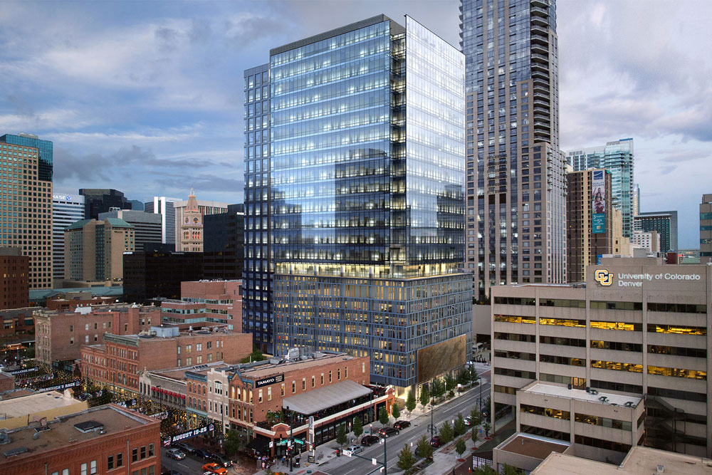 MV Consulting Marcus Vahling Denver Colorado Electrical Engineers Engineering Firm Architecture Construction Metro Mixed Use 1401 Lawrence Street High Rise Offices LoDo Downtown